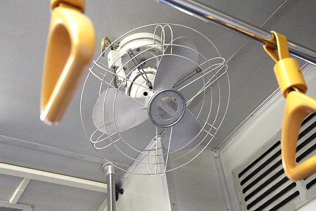 水島臨海鉄道キハ30形 扇風機(JNRロゴ入り)