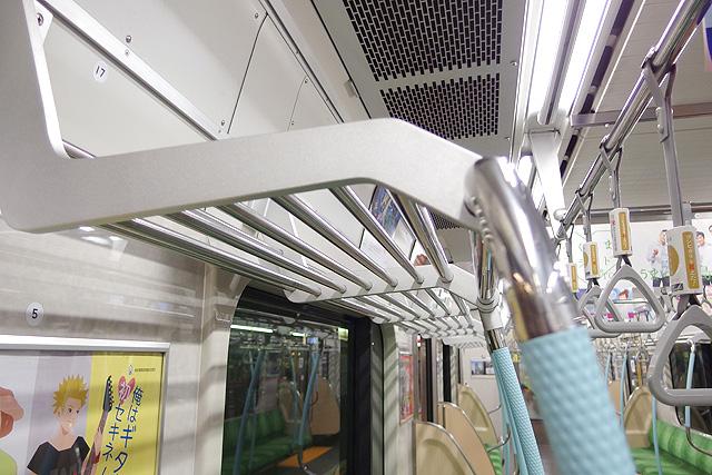 都営地下鉄10-300形(5次車)荷棚