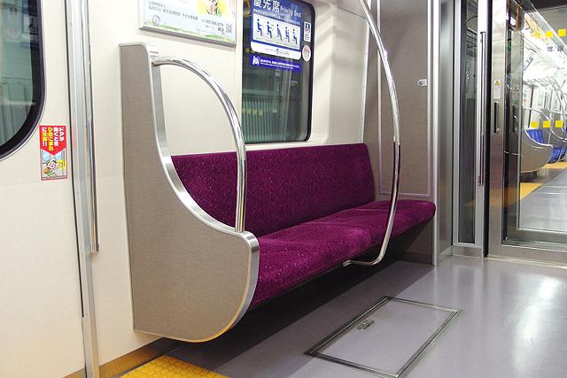 仙台市地下鉄2000系 優先席