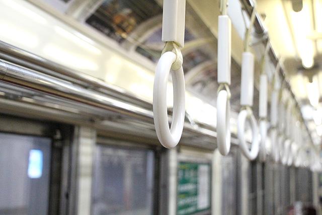 北陸鉄道8000系(8800番台) 吊革