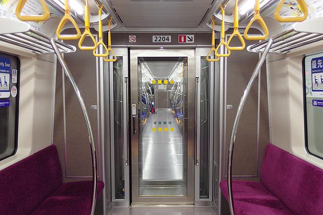 仙台市地下鉄2000系 貫通路