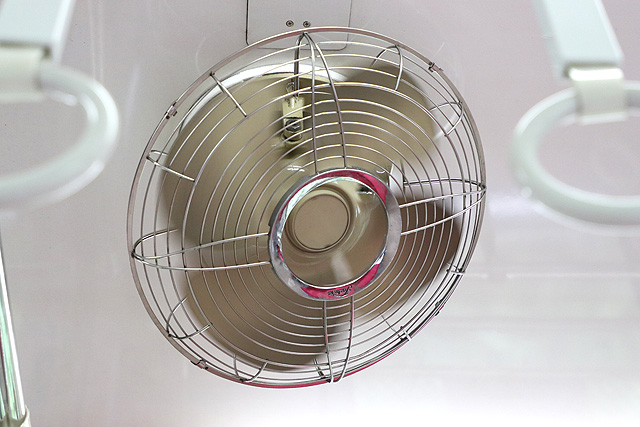 東急8500系(軽量車)扇風機