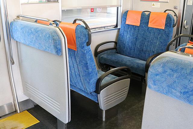 JR東海313系5000番台 優先座席、座席仕切り