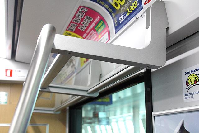 大阪モノレール3000系 荷棚