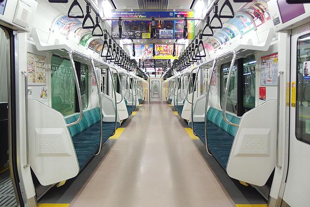 JR東日本E233系7000番台車内