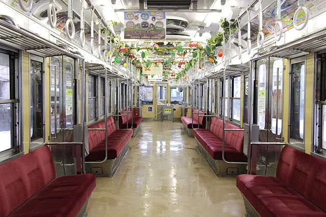 北陸鉄道7700系車内