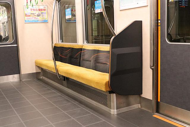 京阪6000系(リニューアル車) 優先座席