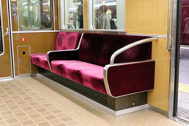 阪急7000系(VVVF化リニューアル車)優先座席
