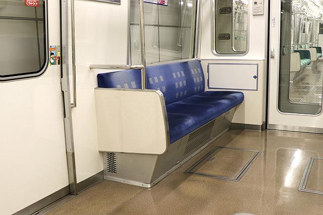Osaka Metro 80系 優先座席