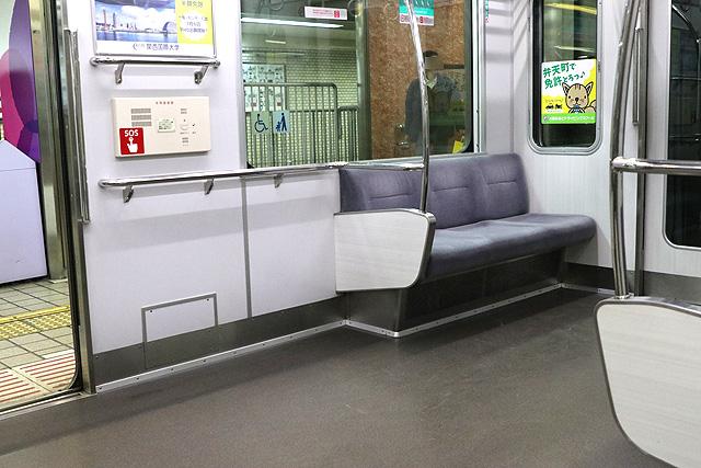 阪神1000系 車いすスペース
