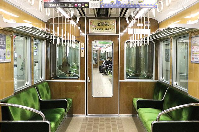 阪急7000系(VVVF化リニューアル車)貫通路