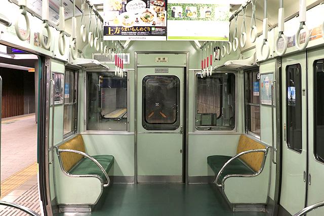京阪2600系30番台 乗務員室背面