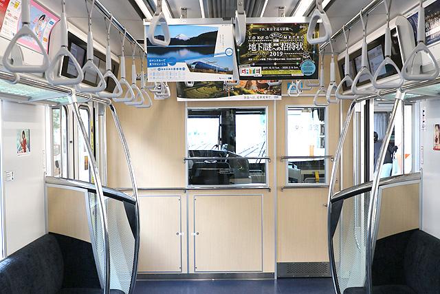 東京メトロ13000系 乗務員室背面