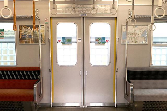 近鉄7000系 客用ドア