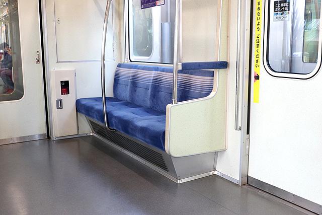 東京メトロ05系7次車 優先席