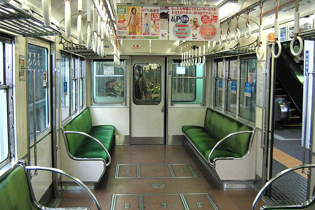 京阪1900系 車内