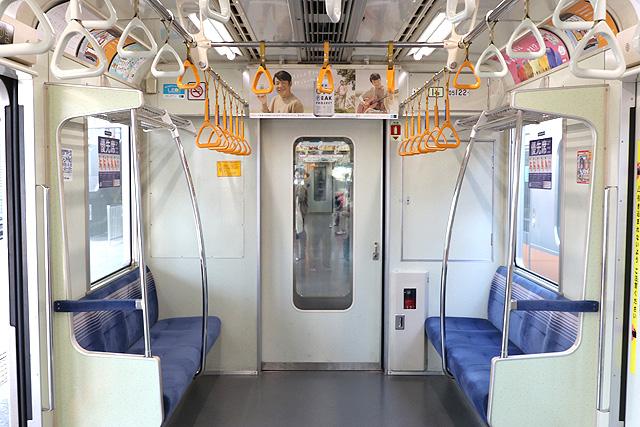 東京メトロ05系7次車 貫通路