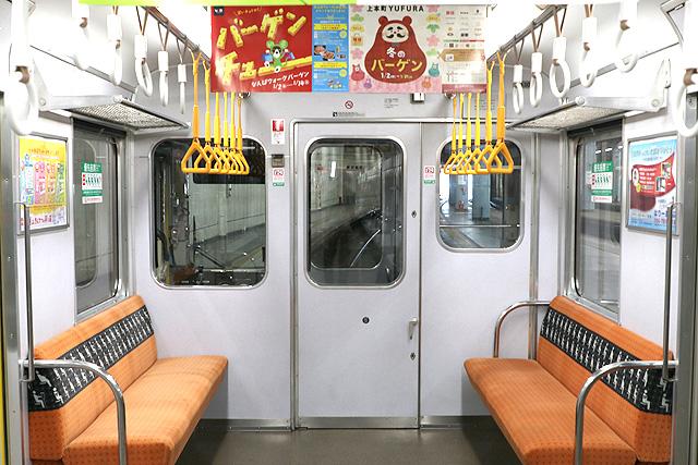 近鉄2430系(B更新車)乗務員室背面