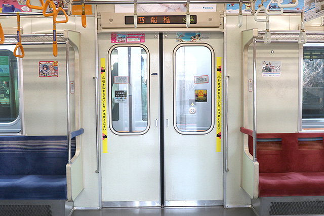 東京メトロ05系7次車 客用ドア