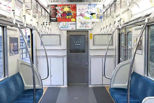 西武新2000系(リニューアル車)乗務員室背面