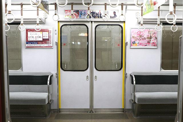 近鉄2430系(B更新車)客用ドア