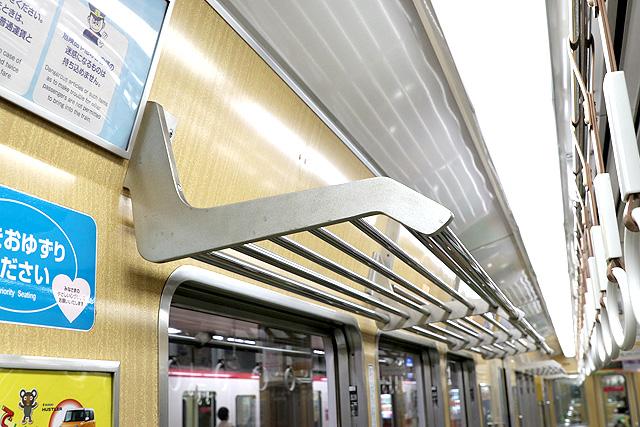神戸電鉄5000系 荷棚