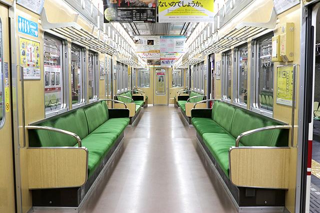 神戸電鉄5000系 車内デザイン