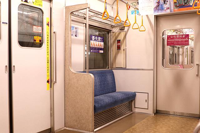 東京メトロ7000系(初期車)優先席