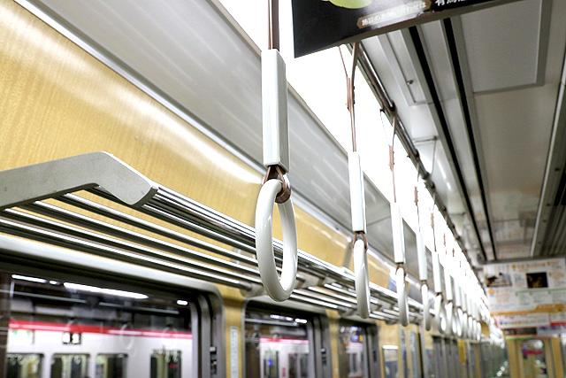神戸電鉄5000系 吊革