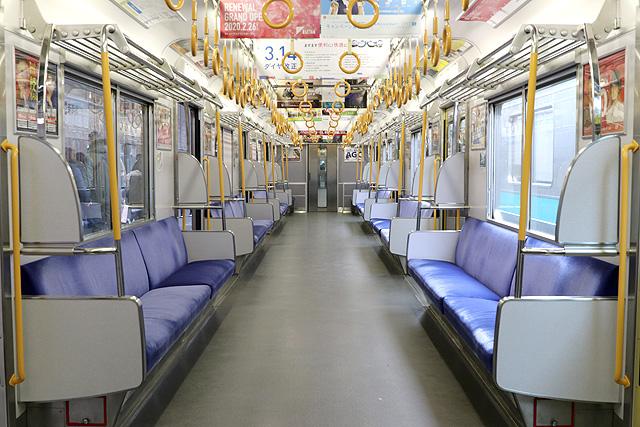 JR西日本205系1000番台 車内
