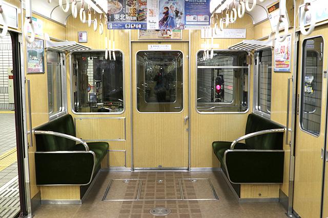 阪急5300系(後期更新車)乗務員室背面
