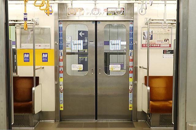東急8500系(更新車)客用ドア