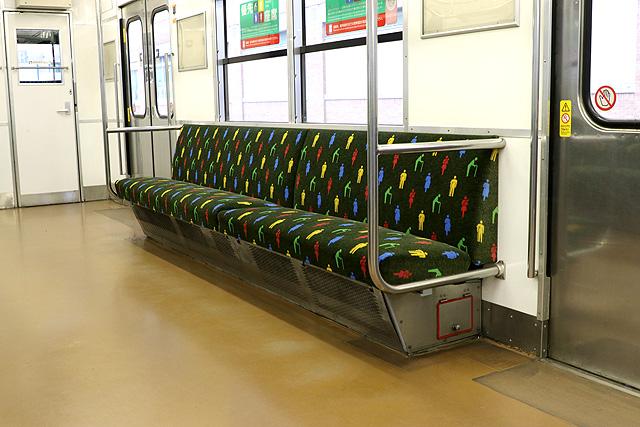 JR西日本103系(R1編成)優先座席