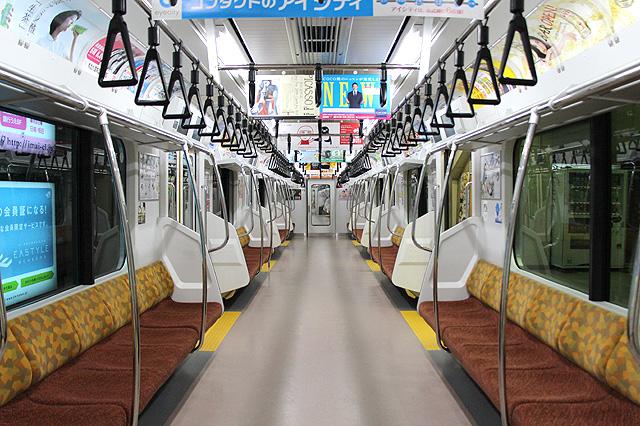 JR東日本E233系8000番台 車内デザイン