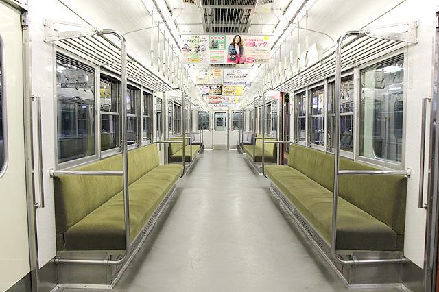 阪神7861・7961形 車内デザイン