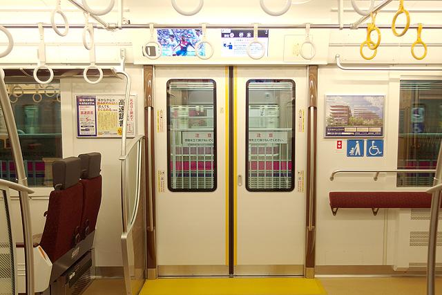 京王5000系京王ライナー(2次車)客用ドア