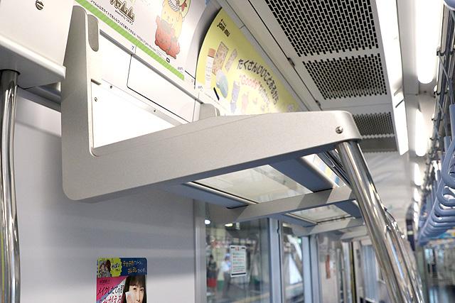 東京メトロ16000系(4次車~)荷棚