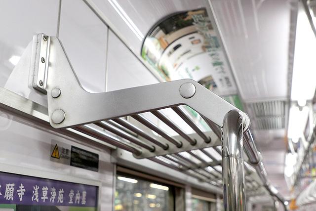 新京成8800形(リニューアル車)荷棚