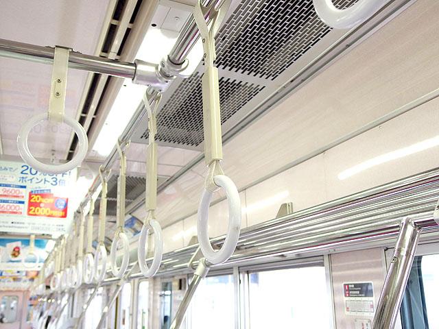 小田急2000形 吊革
