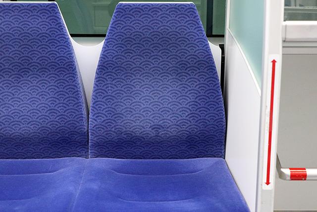 【今週の座席モケット】東京モノレール10000形