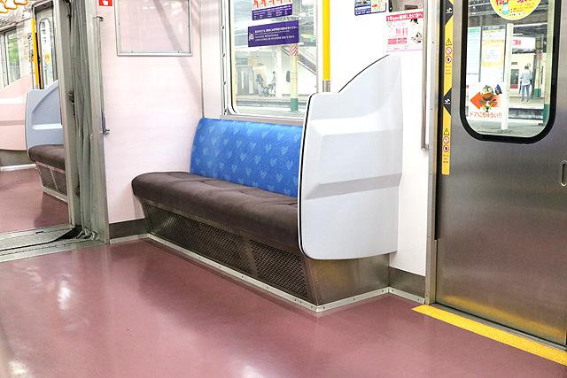 新京成8800形(リニューアル車)優先席