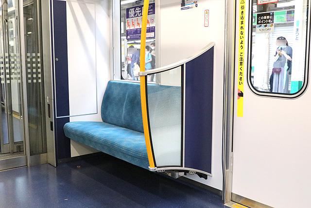 東京メトロ16000系(4次車~)優先席