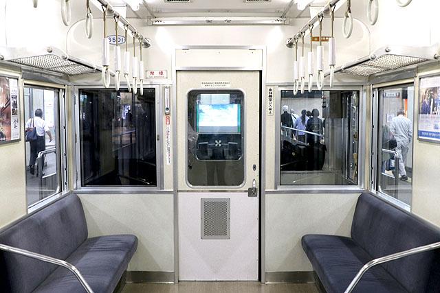 南海6200系(第1編成)乗務員室背面