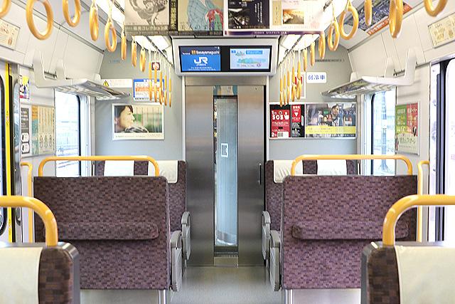 JR西日本225系6000番台 貫通路