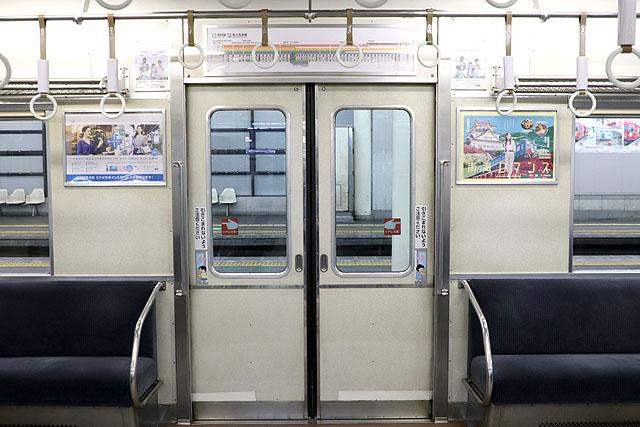 南海6200系(第1編成)客用ドア