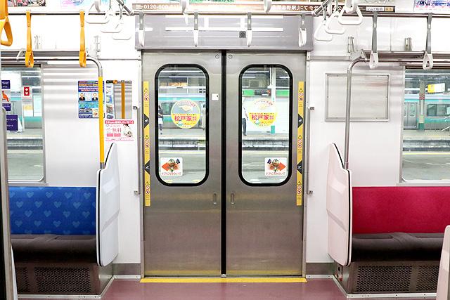 新京成8800形(リニューアル車)客用ドア