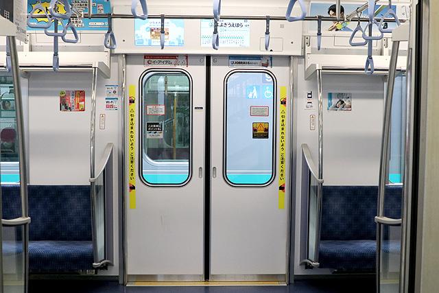 東京メトロ16000系(4次車~)客用ドア