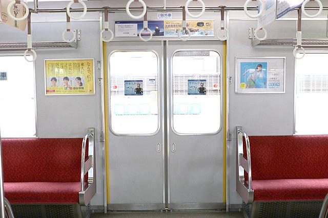 近鉄3200系 客用ドア