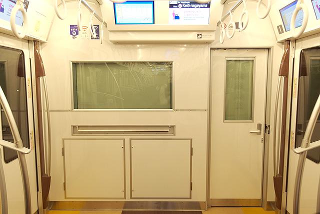 京王5000系京王ライナー(2次車)乗務員室背面
