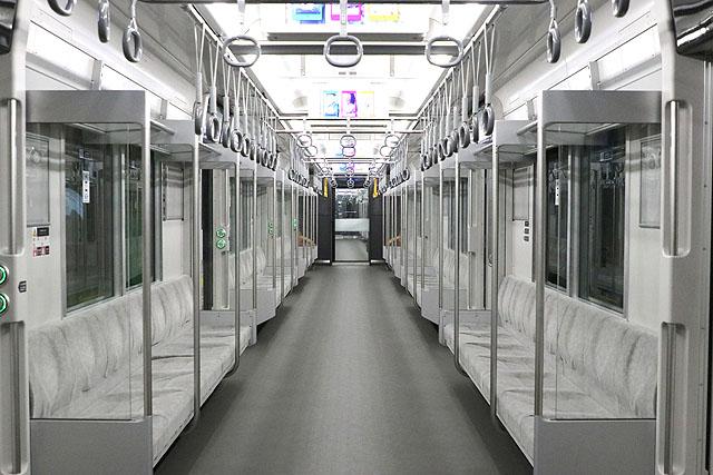 相鉄20000系 車内デザイン